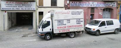La empresa mha solsona maquinaria de hosteler a nueva for Hosteleria ocasion